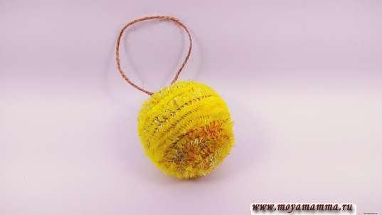 Пушистый шарик