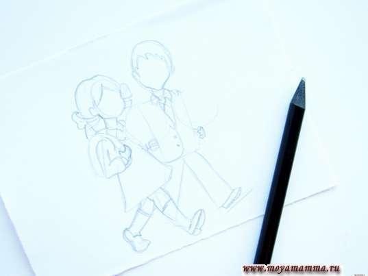 Рисование мальчика