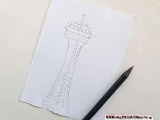 risunok dlya detey gorod buduschego 3 - Нарисовать как будет выглядеть город в будущем