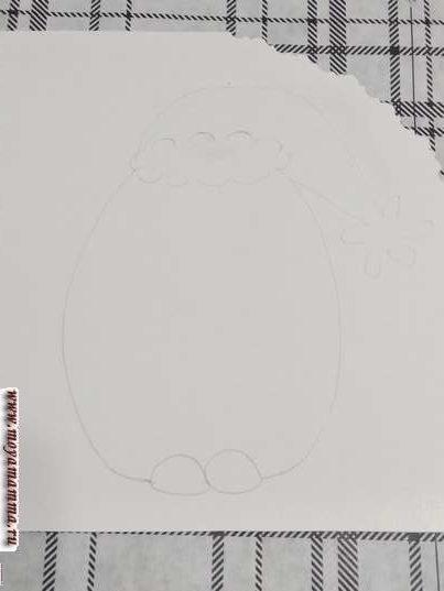 Набросок пингвиненка