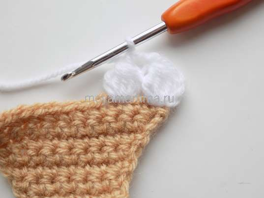 Вязание пирожного крючком
