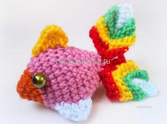 игрушка рыбка крючком