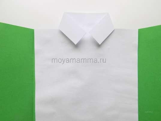 Изготовление воротника рубашки