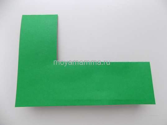 Основа из зеленого картона