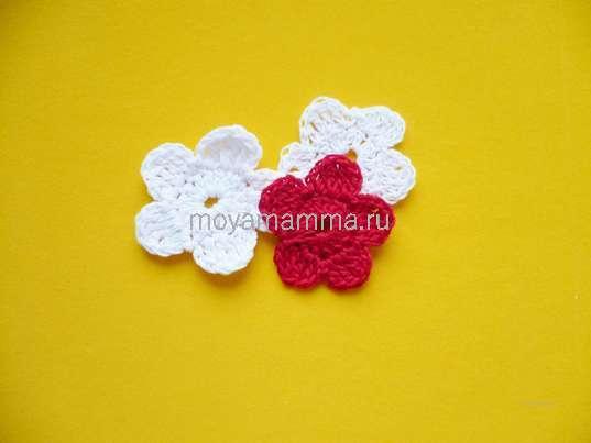 Цветочки для повязки