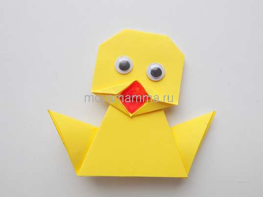 утенок оригами