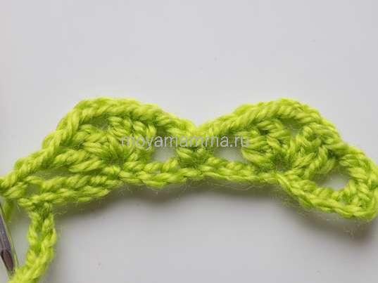 Вязание арок