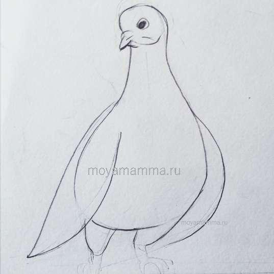 Рисование крыльев