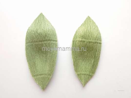 Растягивание листочков