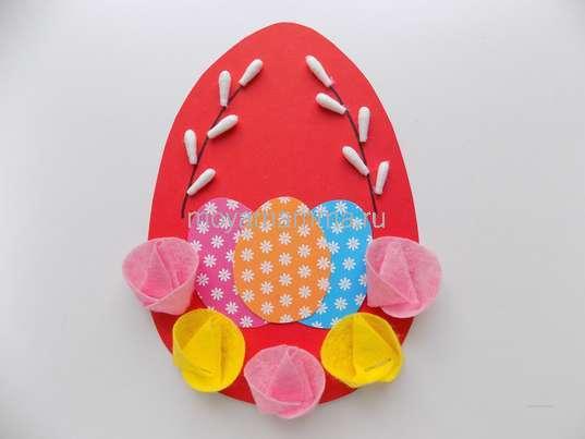 поделка в школу пасхальное яйцо