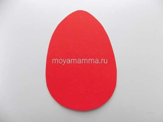 Поделка в школу пасхальное яйцо. Основа поделки в форме яйца
