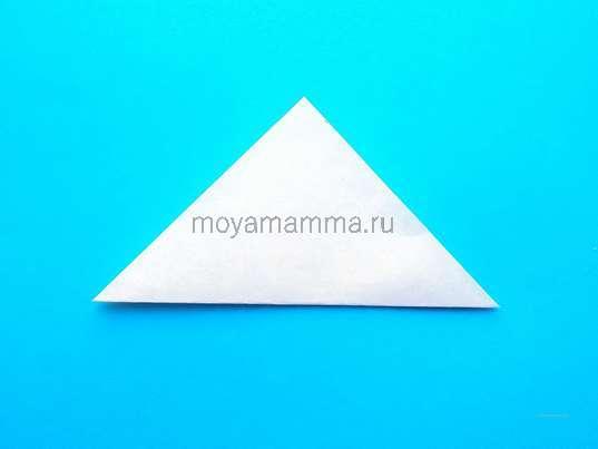 Складывание по диагонали
