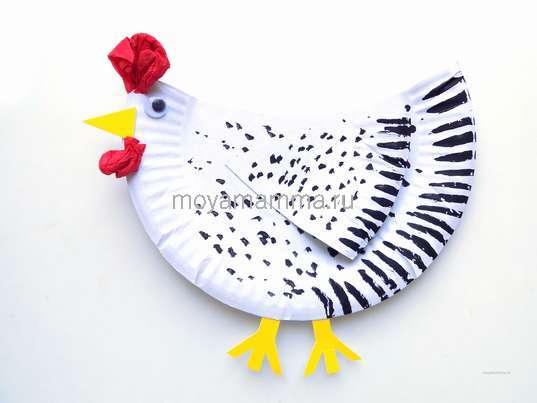 Поделка курица