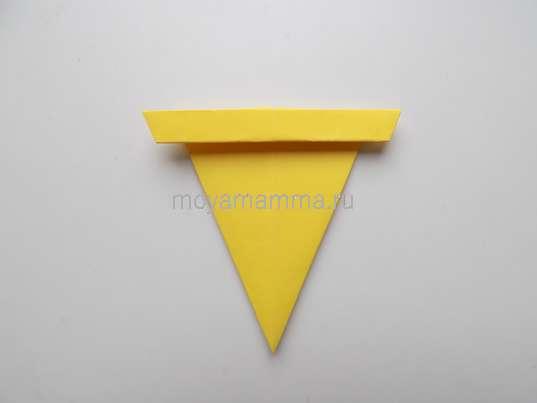 Мороженое оригами. Заготовка для стаканчика