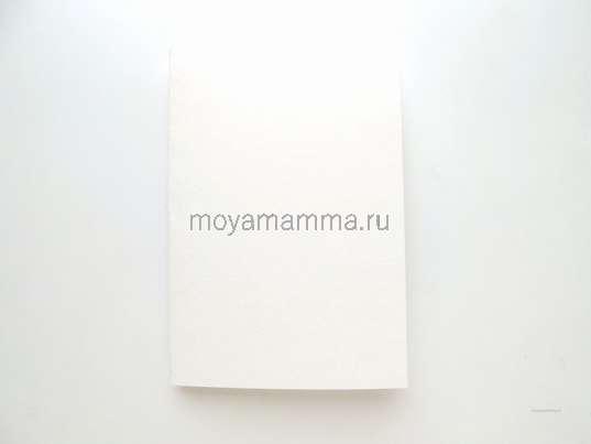 половинка листа акварельной бумаги