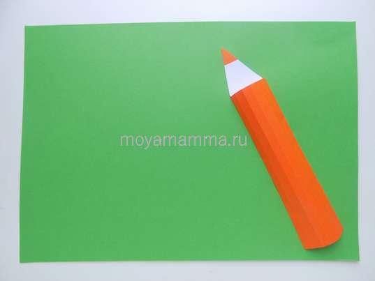 Оформление карандаша