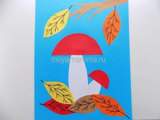 поделки на тему осень