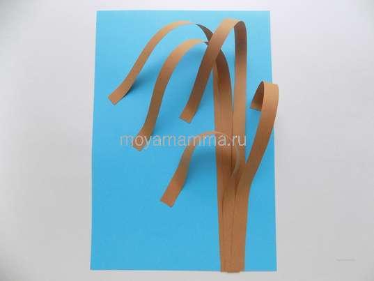 Приклеивание деталей дерева