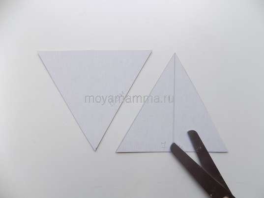 Два равносторонних треугольника